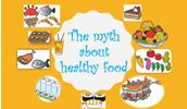 The myth about healthy food